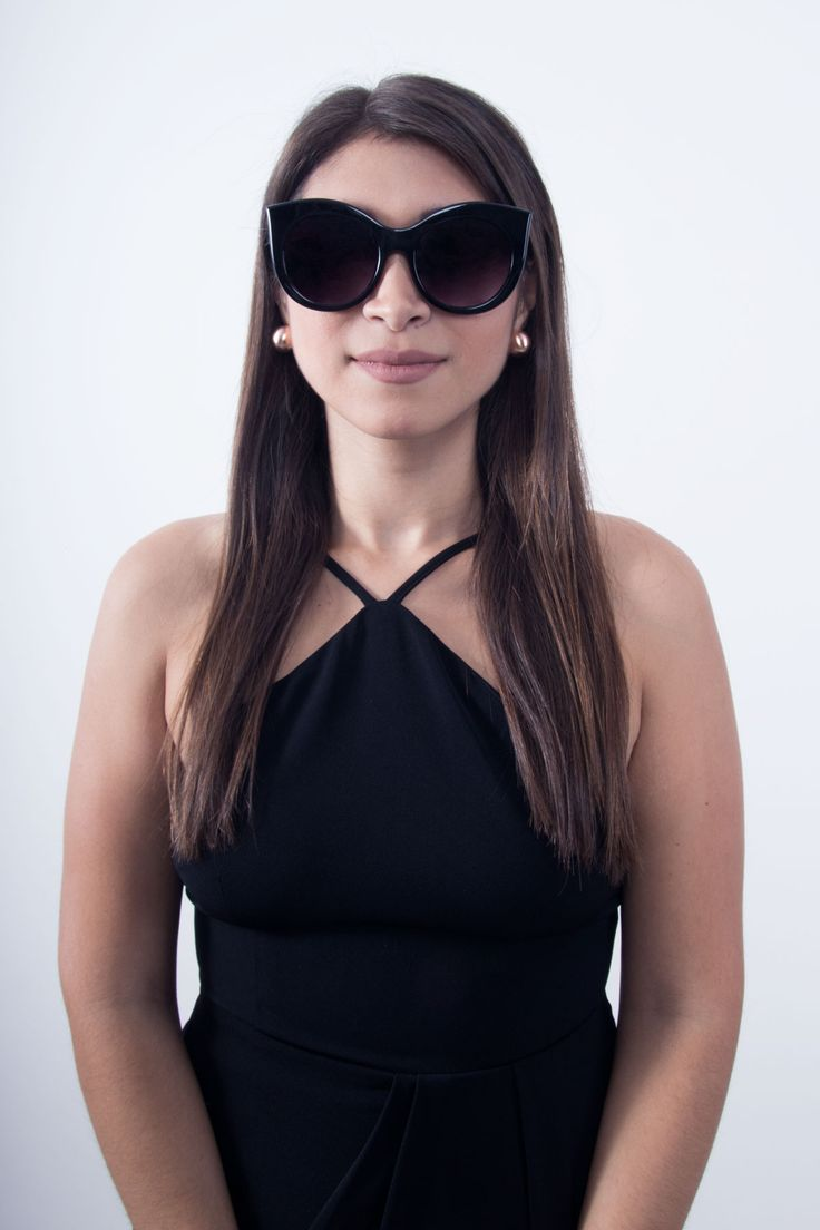 Elegant and Chic | Black Sunglasses | Scandinavian Style
