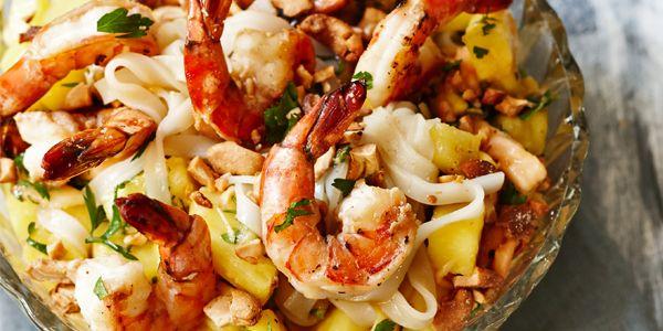 Hier vind je het recept voor de tropische pittige salade uit aflevering 12 van Claartjes Keuken.