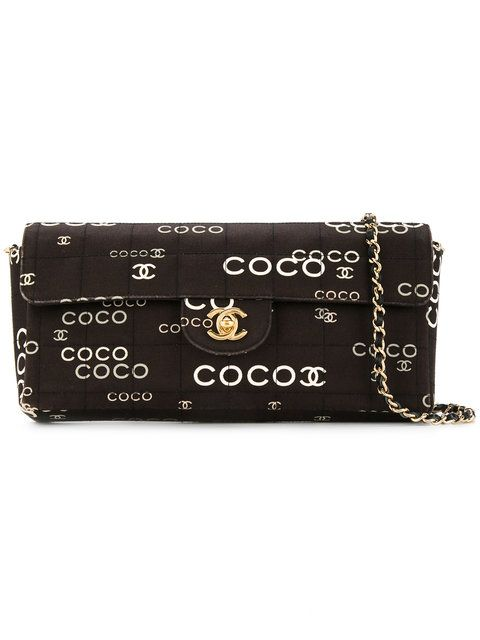 711756b01b12e8 Chanel Vintage coco chocolate bar bag | I love shopping