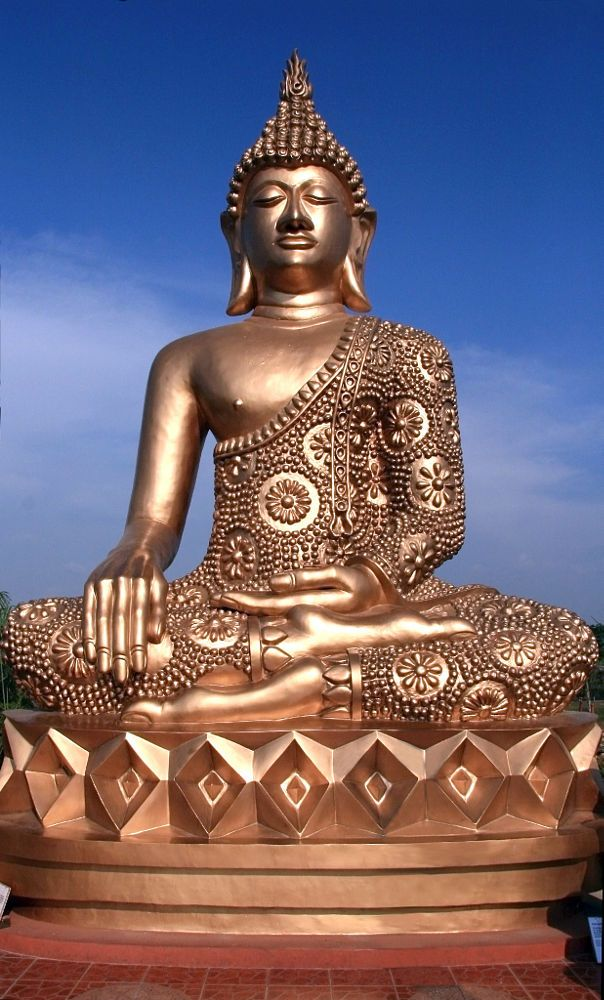 Golden Buddha by Jonas San Luis on 500px
