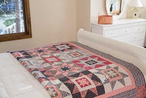 Cottage Stars Quilt Pattern