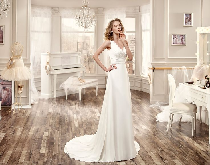 Live your Italian tailor-made shopping experience on ALTELIER.com | Wedding Dress Nicole - Collection NICOLE  2016