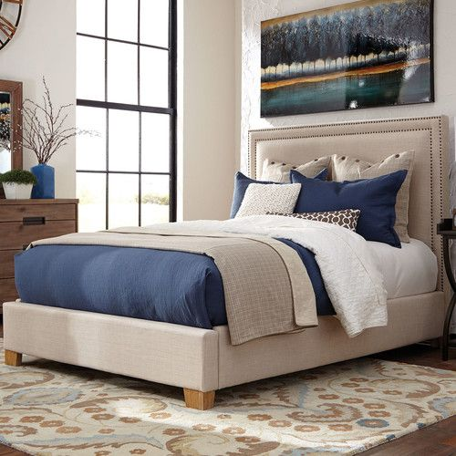 Found it at Wayfair - Madeleine Upholstered Panel Bed