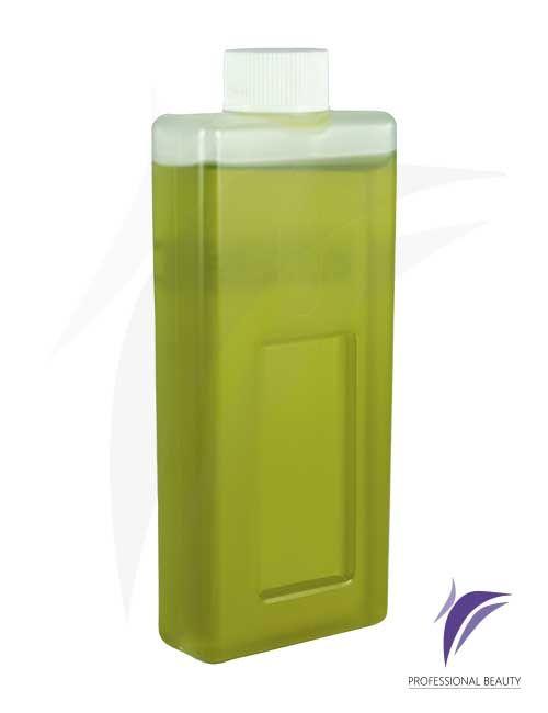 Cera Aceite de Oliva Recargable 100g: Resina enriquecida con aceite de oliva extra virgen para vello normal en pieles sensibles y bronceadas.