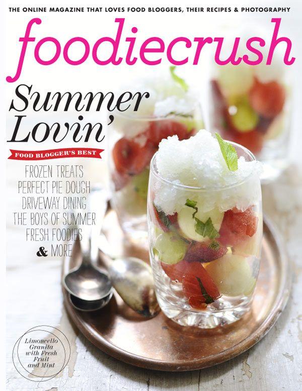 FoodieCrush Summer 2012 Issue @Foodie Crush Heidi Larsen
