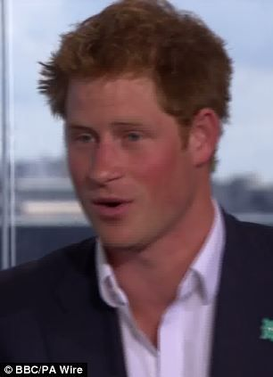 Prince William and Prince Harry talk to Sue Barker