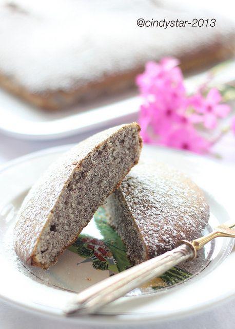 Mákos Pite - Torta ai semi di papavero - Poppy seed cake