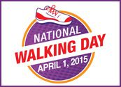 Get Ready for National Walking Day!