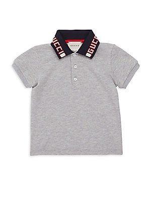 e474378ea8dd Gucci - Baby Boy s Logo Polo Shirt Gucci Baby