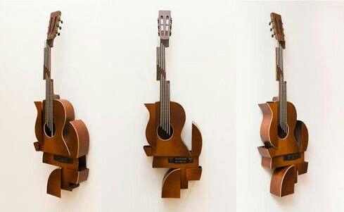 Escultura de Violão