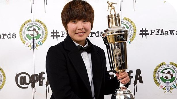 Ji So-yun Earns Another Player of the Year Award in English Football League