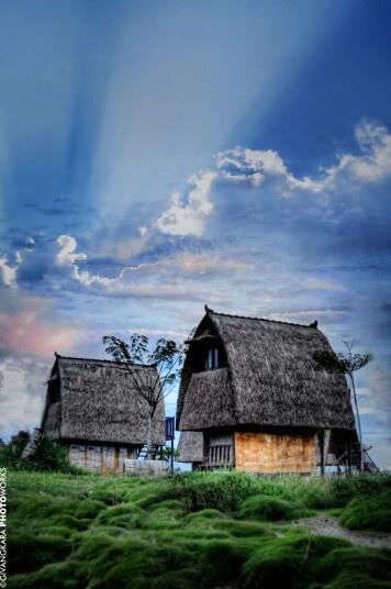 Sasak Tribe's Houses