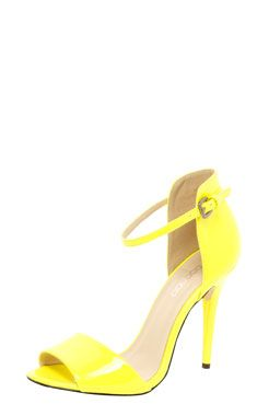 Favourite thing in the world? Shoes.  Favourite colour? Yellow.  Match made in heaven. I need you!
