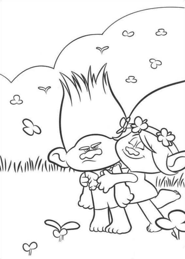 14 best Trolls images on Pinterest Coloring books, Coloring pages - best of printable coloring pages for january