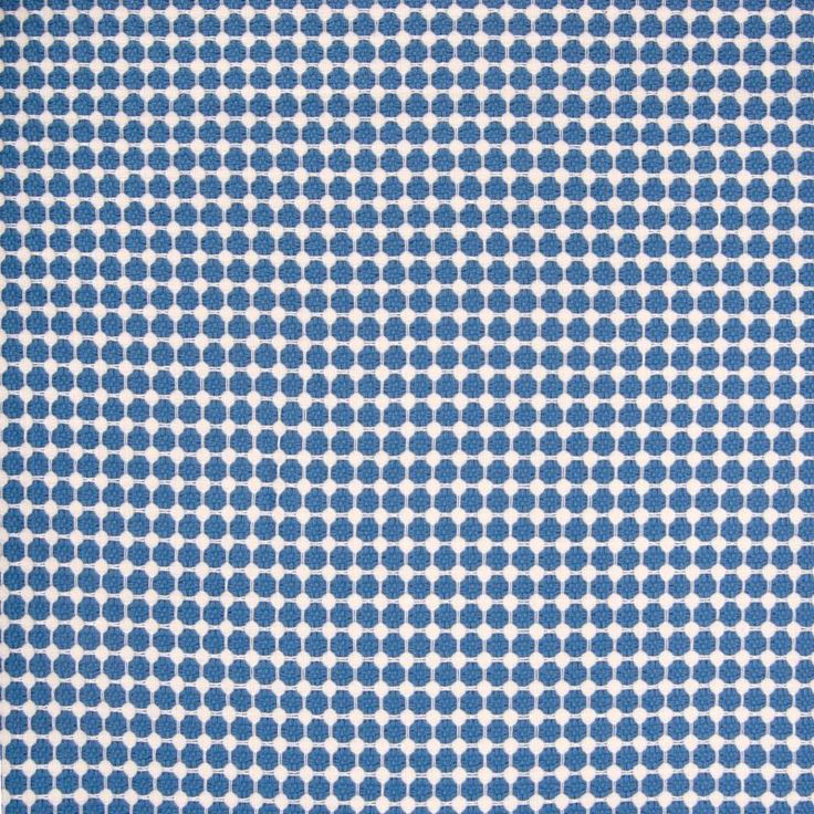 Bluebell lattice decorating fabric by Greenhouse. Item B7400-BLUEBELL. Low prices and fast free shipping on Greenhouse fabric. Always first quality. Search thousands of patterns. Swatches available. Width 54 inches.