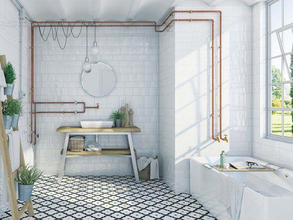 Baño Tuberías vistas - bathroom