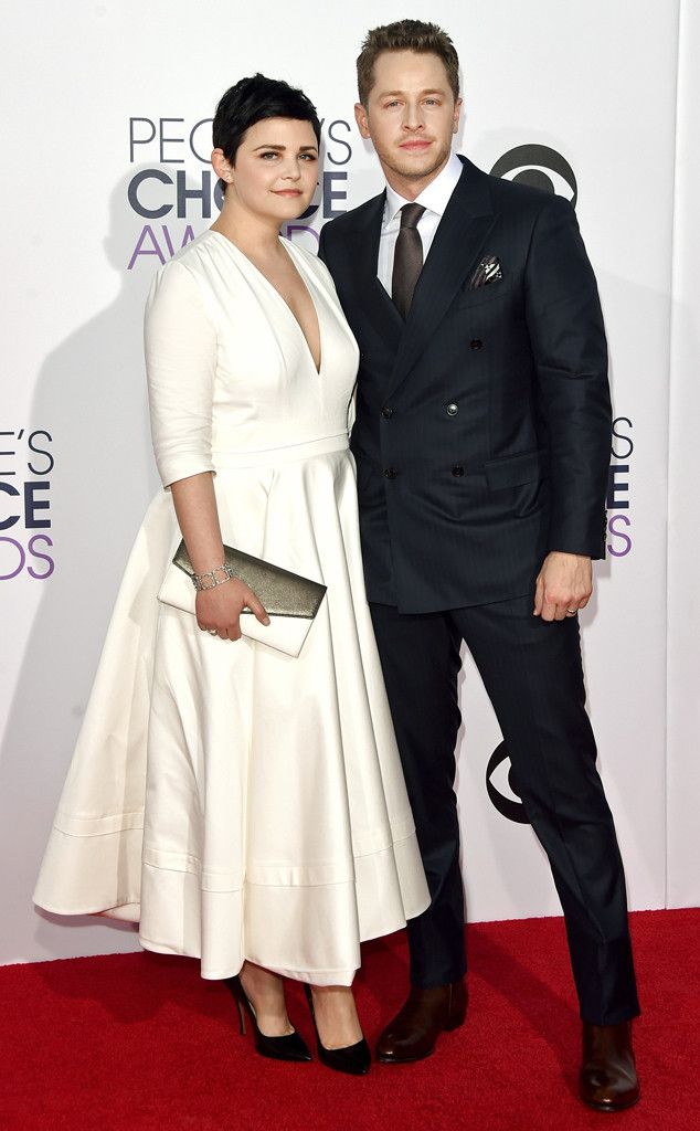Ginnifer Goodwin and Josh Dallas look absolutely...charming at the People's Choice Awards