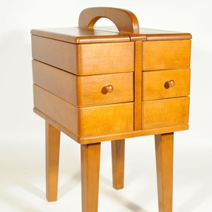60s Sewing Box, 450u20ac, Now Featured On Fab.