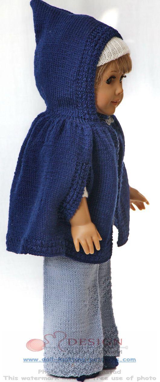 Doll knitting classic fashion for fall