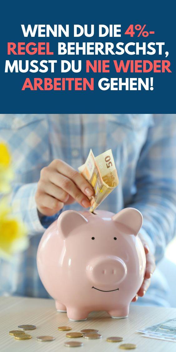 ᐅ Wer die 4%-Regel beherrscht, muss nie wieder arbeiten gehen – Kreditheld (Geld sparen)