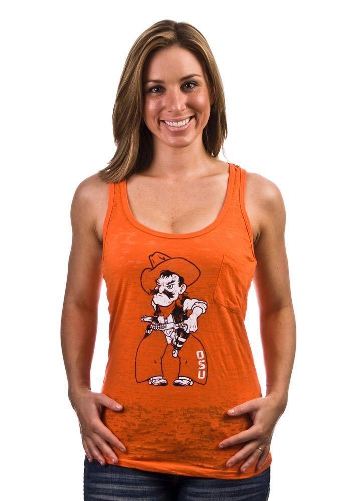 Oklahoma St Cowboys Orange Pistol Pete w/ Pocket Tank Top http://www.rallyhouse.com/shop/oklahoma-state-cowboys-oklahoma-st-cowboys-orange-pistol-pete-w-pocket-tank-top-5702363?utm_source=pinterest&utm_medium=social&utm_campaign=Pinterest-OSUCowboys $24.95
