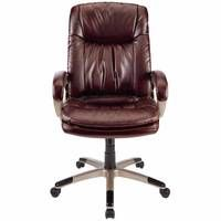 Realspace® Harrington II High-Back Bonded Leather* Chair