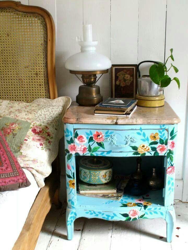 mesita mueble Vintage