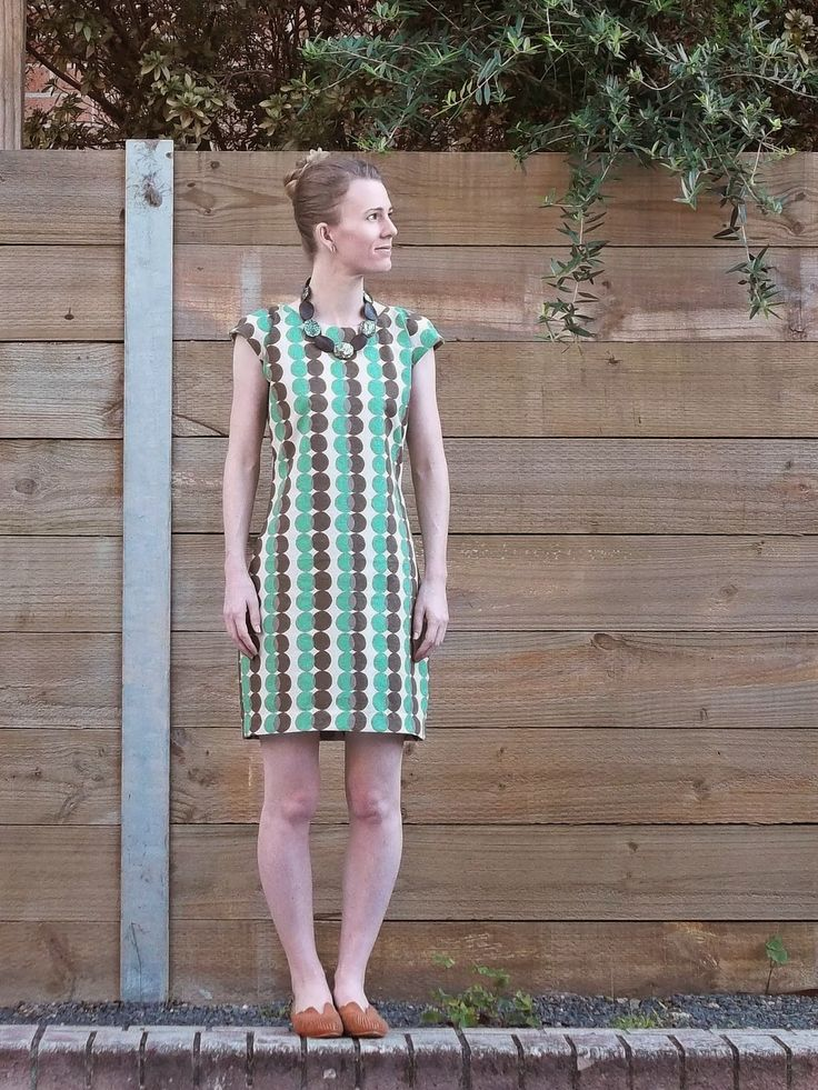Antipodean Stitcher: Spotted Stripe Shift and Me Made May