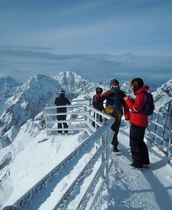 Tatranská Lomnica -  the most popular ski resort in High Tatras-Slovakia