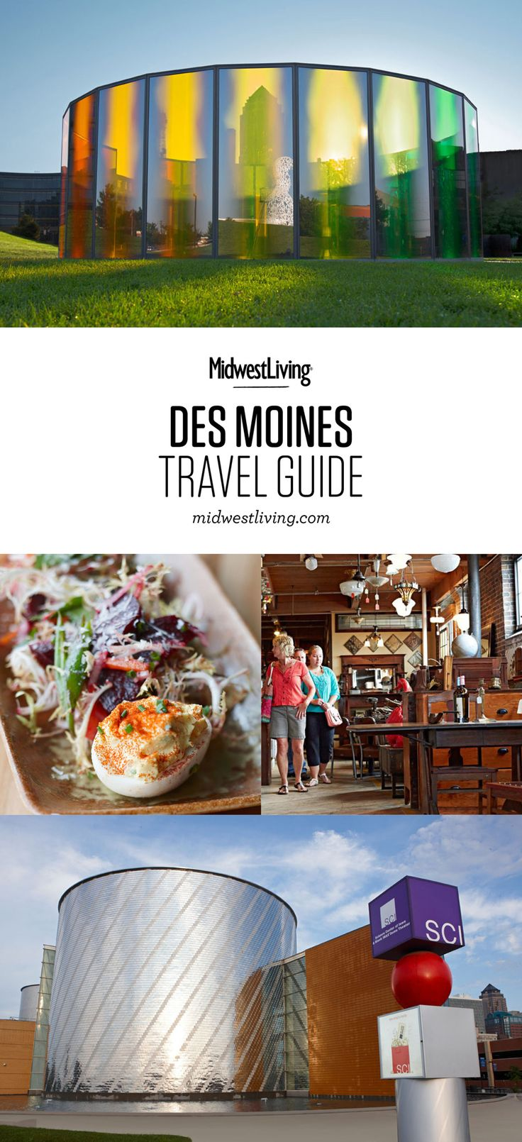 Visiting the state capitol, the Iowa State Fair, Adventureland Park and a world-class sculpture park are just a few of the things to do in Des Moines. Check out our guide for what to do, where to eat and where to stay in Iowa's capital.