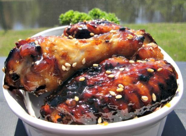 Sweet Soy-Glazed Chicken Wings
