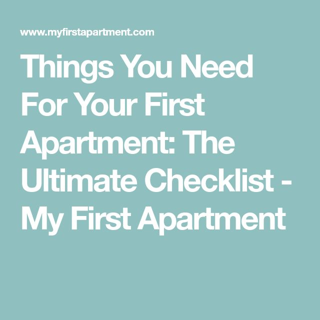 Best 25+ First apartment checklist ideas on Pinterest First - sample new apartment checklist