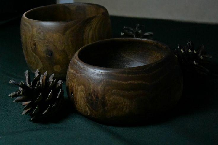 Деревянные миски Вяз   Wooden bowls  Elm