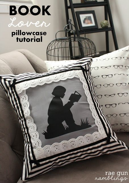 Night Circus Book Lover Pillowcase Tutorial - Rae Gun Ramblings