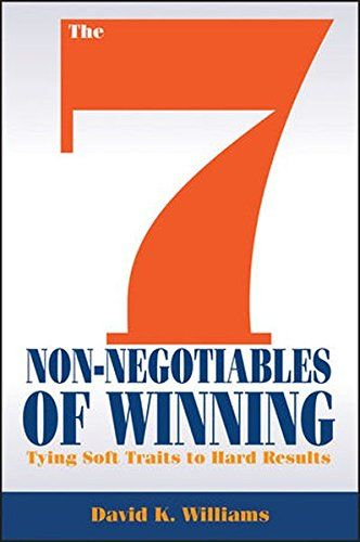 Based on the author's methodology for what abilities drive decisions and actions within his own company, The 7 Non-Negotiables of Winning details how respect, belief, loyalty, commitment, trust, courage, and gratitude play an integral part to multiple key business outcomes. Author David Williams is CEO of Fishbowl provider of Fishbowl Inventory, the leading inventory management and asset tracking solutions for SMBs serving businesses globally.