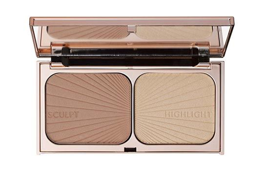 For highlighting and sculpting :Charlotte Tilbury Filmstar Bronze & Glow, $65, available at Charlotte Tilbury.