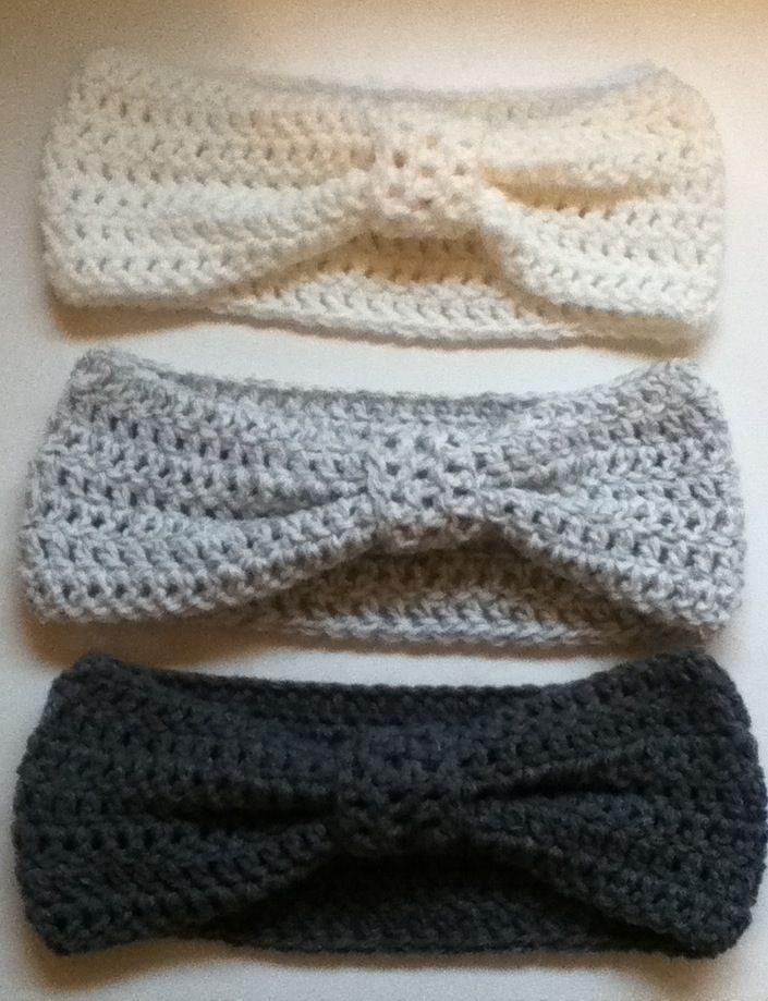 Ombre Crochet Earwarmers