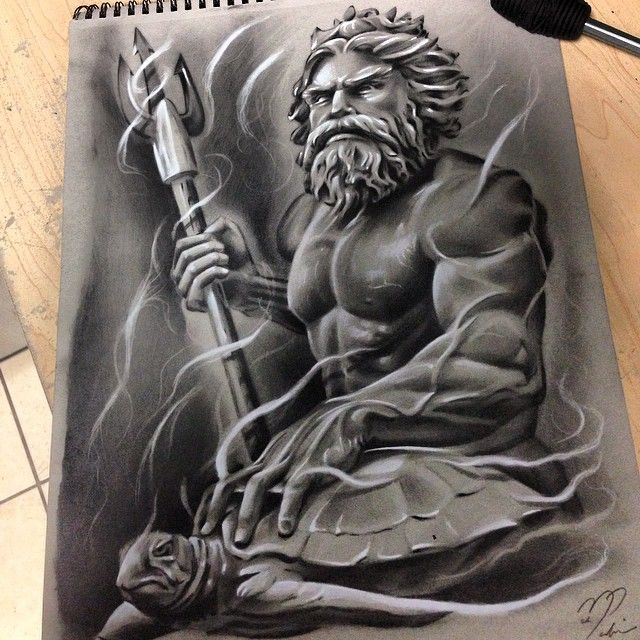 Instagram media by markmerino1 - Poseidon is done! realy want to do more like…                                                                                                                                                                                 More