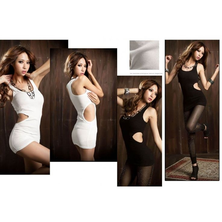 SALE Sexy White Stretch Mini Dress MD194 Model  5397 Condition  New  MD194WHITE Material cotton flexible length75 bust80 SALE IDR 60.000