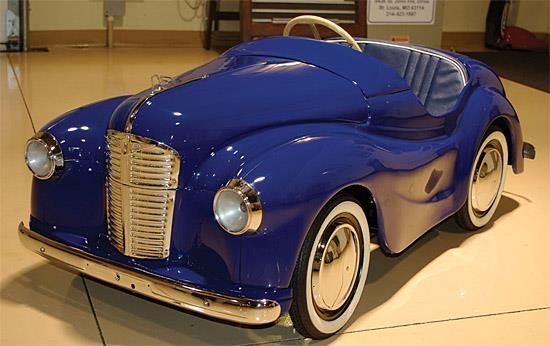 contemporary pedal cars   This children's toy sold for more than $12,000 -- without an engine ...