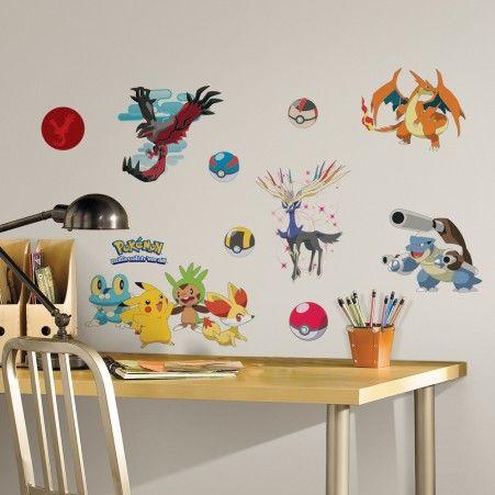 XY Pokémon Wall Decals