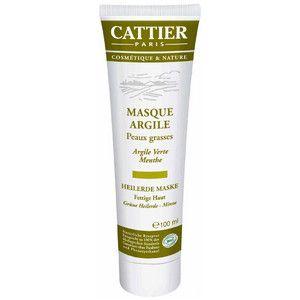 Gesichtsmaske aus grüner Heilerde - Gleicht Mischhaut bei regelmäßiger Anwendung aus