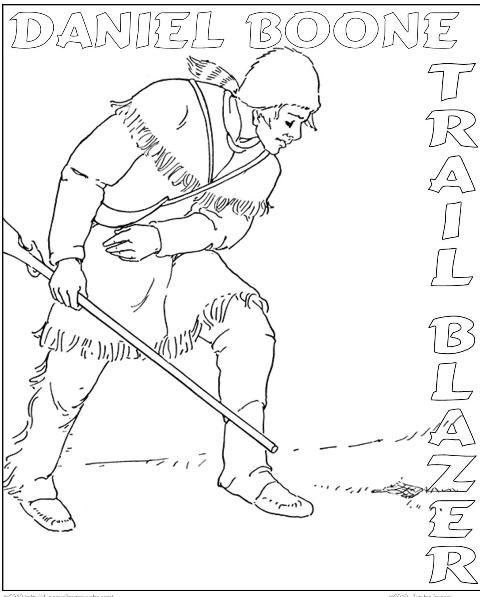 Daniel Boone North American Explorer History Boon border=