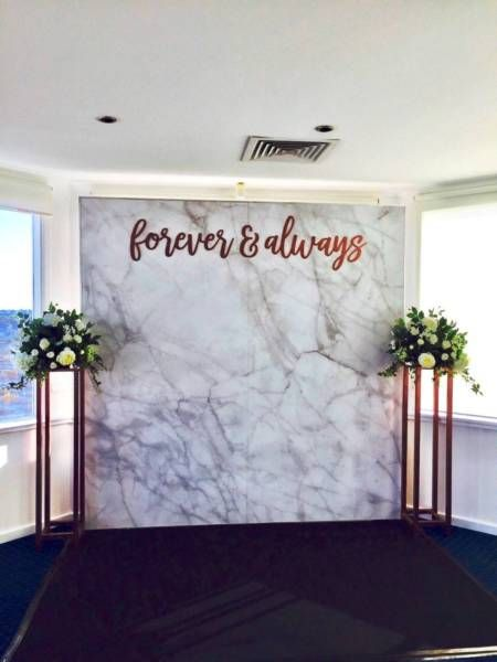 Photo wall backdrop marble flower wall hire | Miscellaneous Goods | Gumtree Australia Perth City Area - Perth | 1135458556