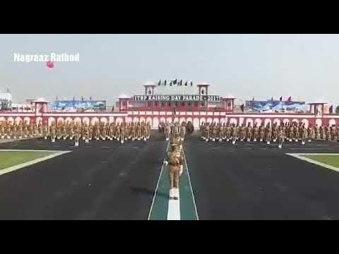 ITBP ( INDO TIBETAN BORDER POLICE FORCE) RAISING DAY PARADE 2017