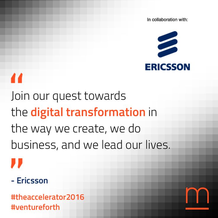 A mighty partner to lead #innovation: Ericsson empowers #TheAccelerator2016 #startups.  Join The Accelerator – submit your company at: http://metavallon.org/the-accelerator/