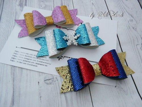 Queen of Hearts Bow Alice in wonderland bow Glitter Bow Large Glitter