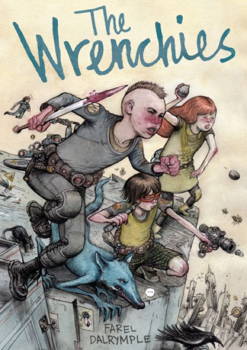 Farel Dalrymple Discusses Details Of His New Book 'The Wrenchies,' Reveals Cover And Interior Art