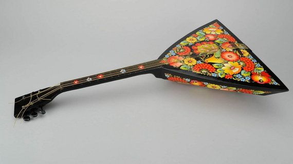 Balalaika hand-painted by Ethnicpresents on Etsy