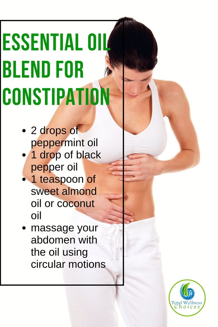 Best essential oils for constipation to help relieve constipation naturally.